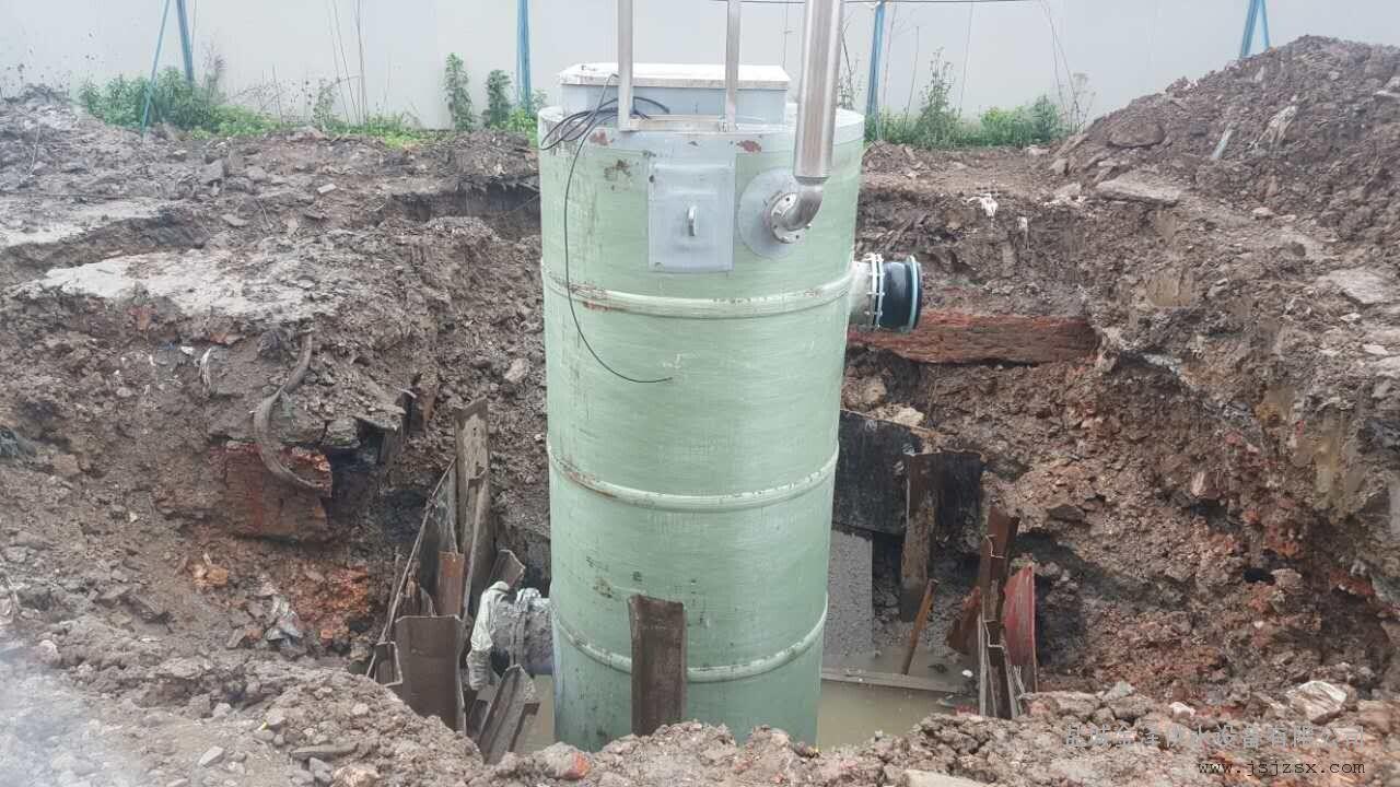 一體化預制污水提升泵站一體化污水提升裝置示例圖4