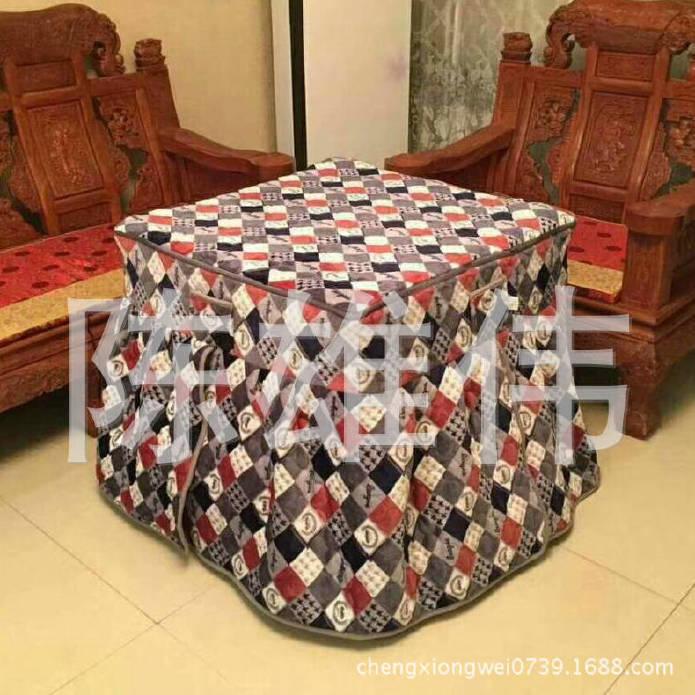 专业提供法兰绒两面有绒拉链棉桌罩 蕾丝棉桌罩 规格齐全示例图5