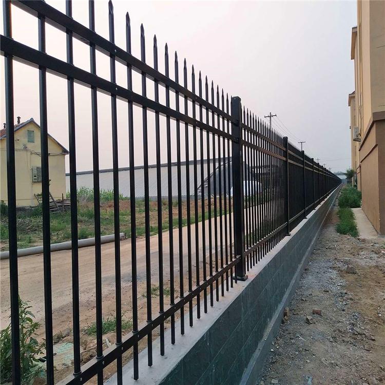 锌钢护栏 厂区护栏 锌钢围栏 小区围墙