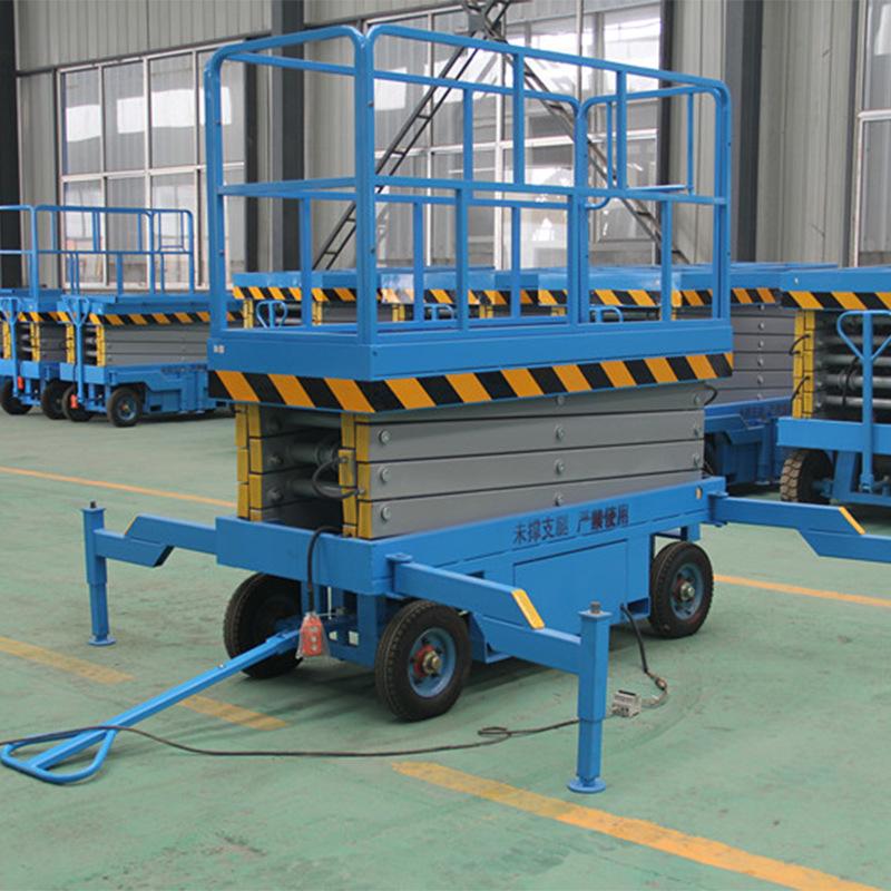 厂家生产剪叉升降平台 移动液压升降台家用小型电梯移动式升降机示例图6