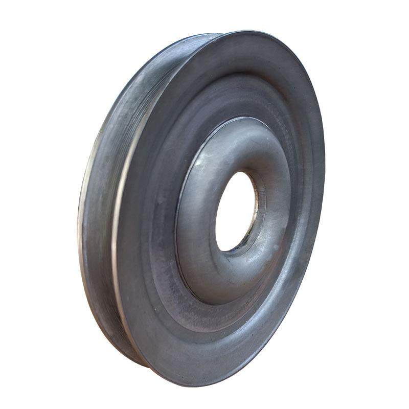 粉碎机械专用配套劈开式V型皮带轮尺寸精准外观精致质量保证示例图2