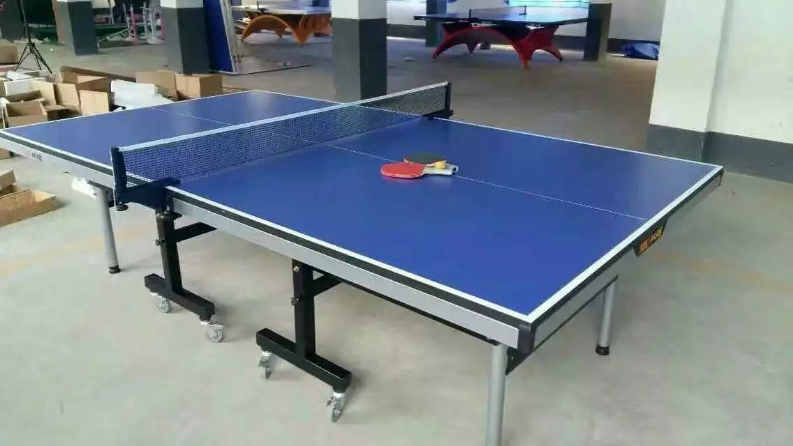特价供应室内可移动乒乓球桌 家用标准乒乓球台 物美价廉售后无忧示例图10