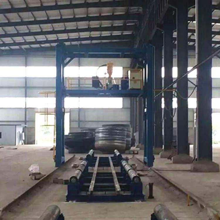 组立机组立效果如何|江苏东台钢结构设备厂家现货批发组立机示例图3