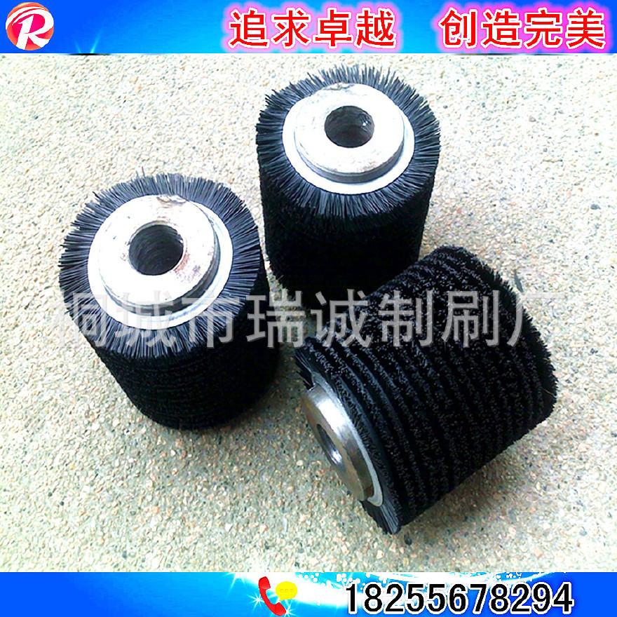 厂家定制棉签机小毛刷 工业异形非标件小刷辊图片