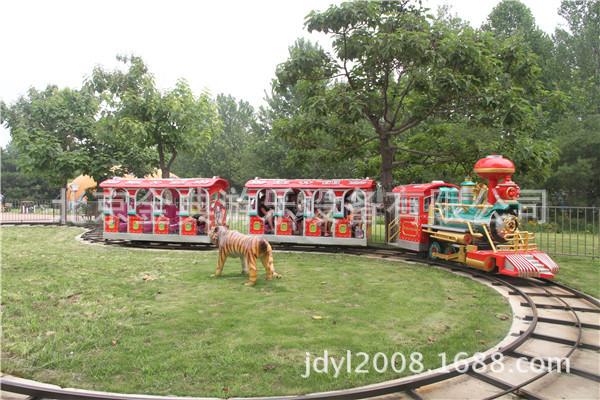 有轨火车 公园必备的游乐项目  西部大火车示例图4