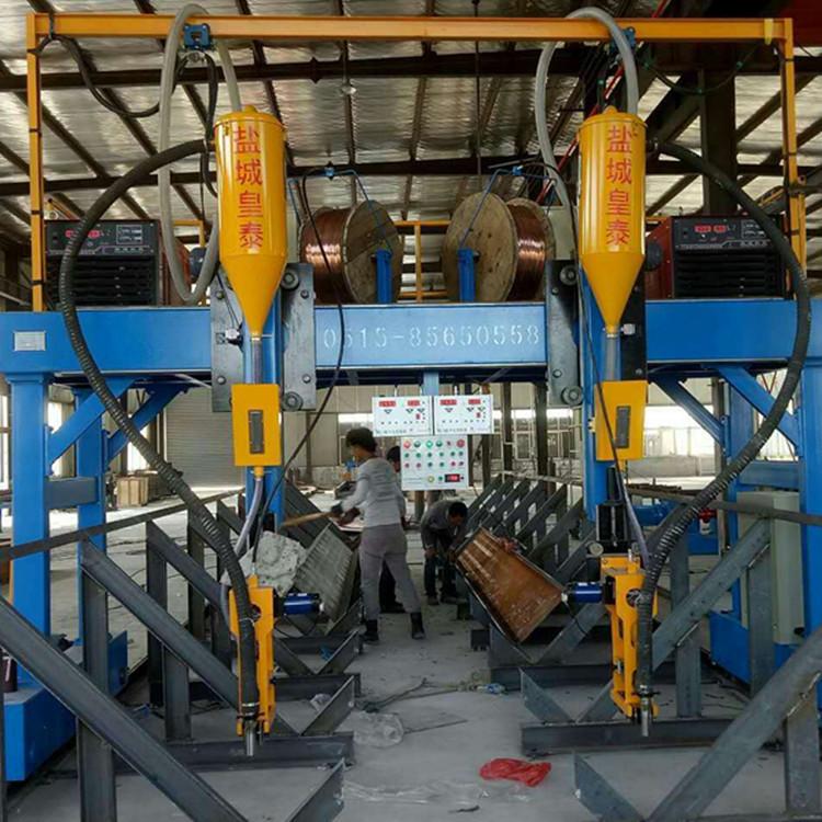 组立机组立效果如何|江苏东台钢结构设备厂家现货批发组立机示例图5