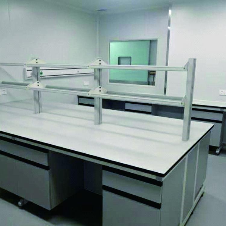 赛思斯 S-SG1遂宁市钢木实验台 化验室家具 理化板实验边台农业农科院 种植实验室