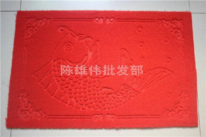 厂家批发拉绒门垫 防滑门垫 防滑吸水客厅门垫 欢迎订购示例图6