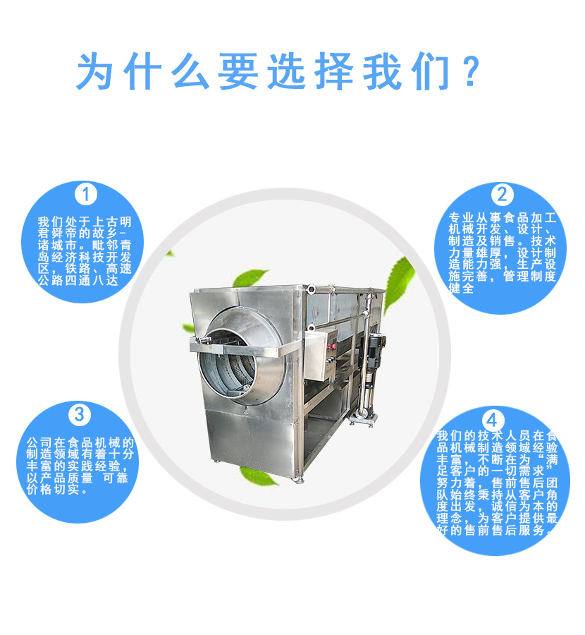 高压水蚕豆仁仁脱衣机 荣昌制造水循环核桃仁去皮机设备示例图8