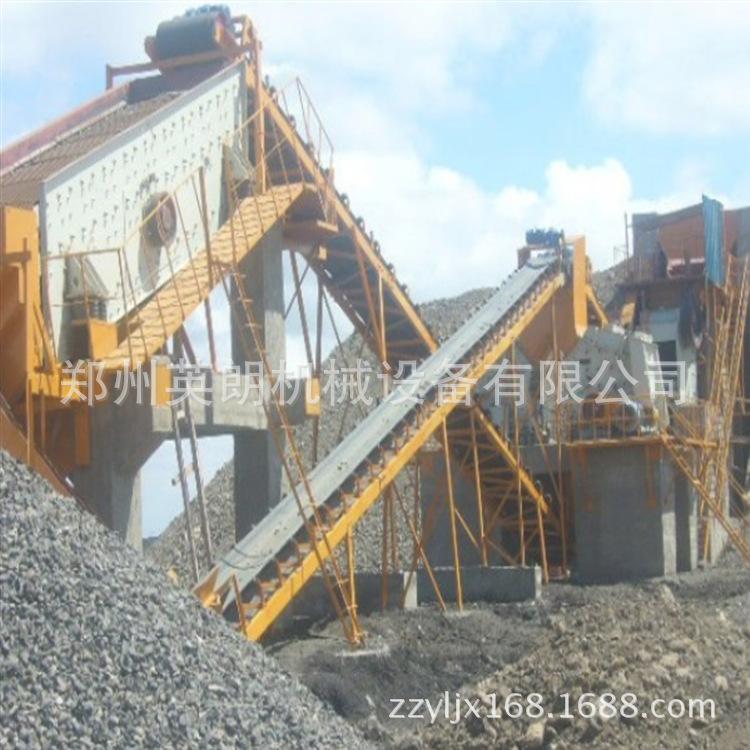 砂石骨料破碎生产线 200T青石制砂生产线 矿山制砂整套石料生产线示例图6