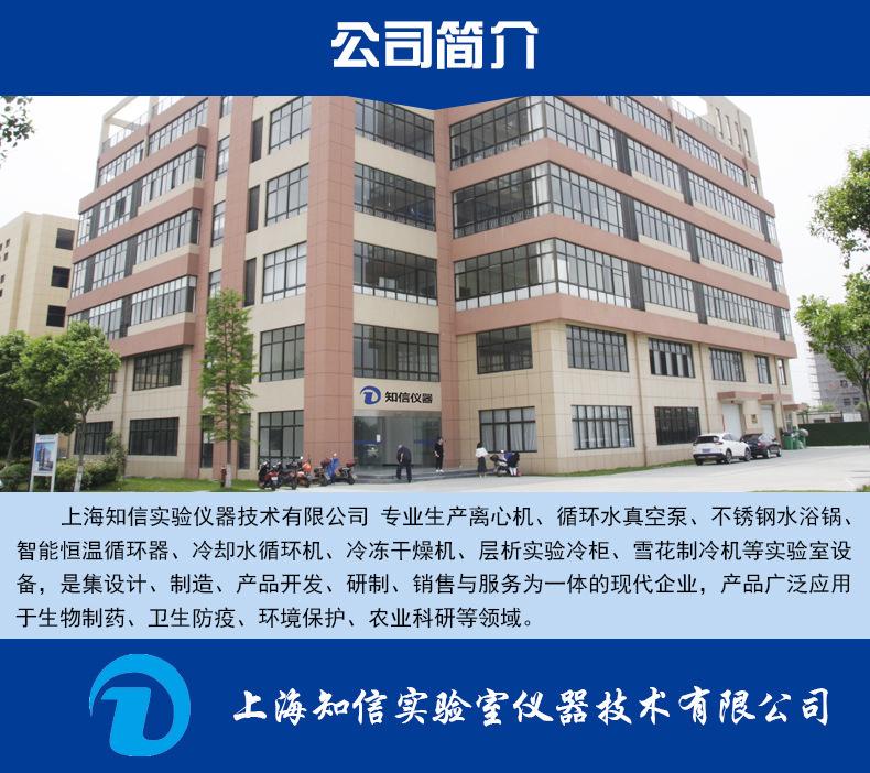 上海知信冷水机 ZX-LSJ-300D(全封闭型)冷却液低温循环机冷水机示例图9