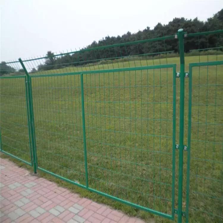 室内铁丝网覆塑围栏 铁艺围栏 体育场围栏 云旭 生产厂家
