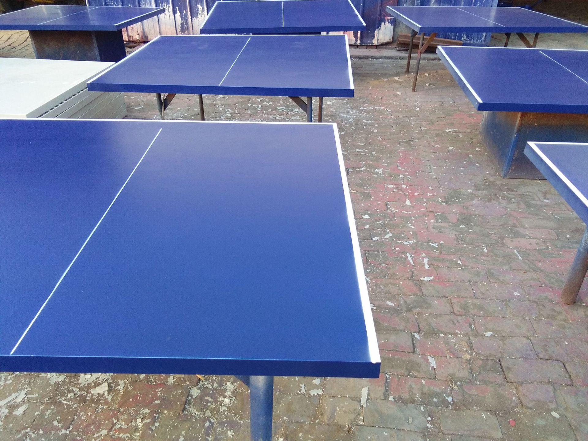 特价供应室内可移动乒乓球桌 家用标准乒乓球台 物美价廉售后无忧示例图26