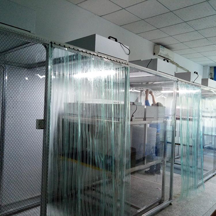 潔凈棚除塵棚吸防塵棚廠家潔凈棚簡易過濾車間制造示例圖3