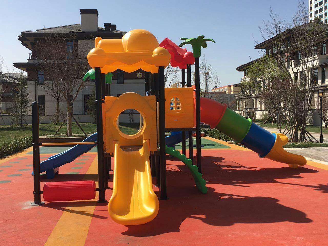 专业生产定制室外小区广场幼儿园滑梯 户外儿童乐园滑梯 物美价廉示例图4