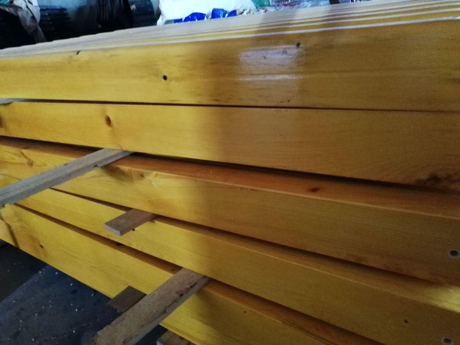 长期供应户外防腐木休闲椅 公园小区座椅 长椅 铸铁腿 实木 塑木示例图20