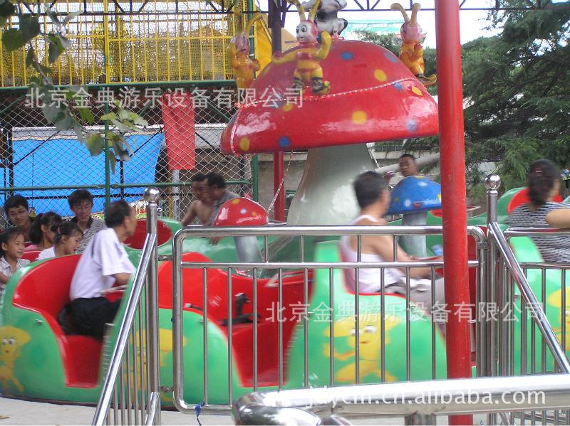 第2代蘑菇转盘 游乐设备 游艺机 游乐设施 北京游乐设备示例图6