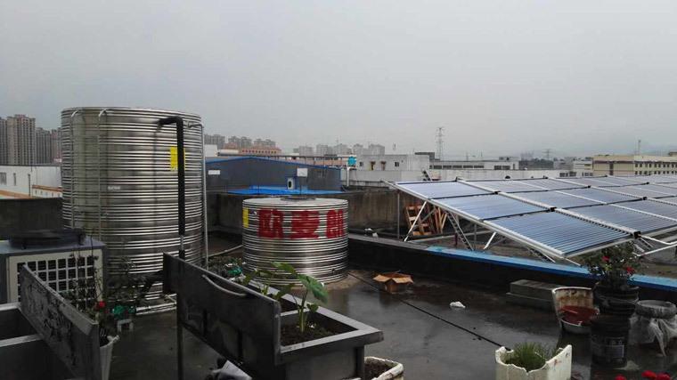 2宾馆太阳能热水器 大型热水工程机 太阳能热水工程厂家示例图3
