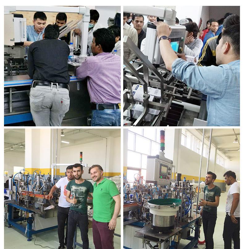 食品全自动装盒机 广州日用品自动包装设备 广州自动生产流水线示例图157