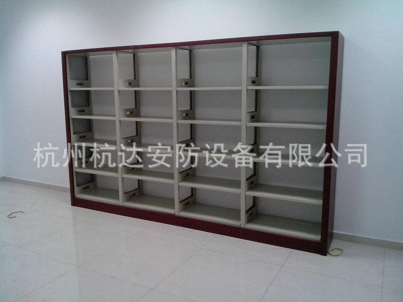 厂家定做 图书馆钢制书柜 大型多层书柜系列示例图71