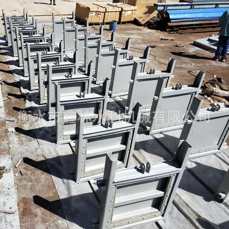 【不銹鋼閘門 】定制批發不銹鋼渠道閘門 氣動密封閘板門 質量優示例圖11