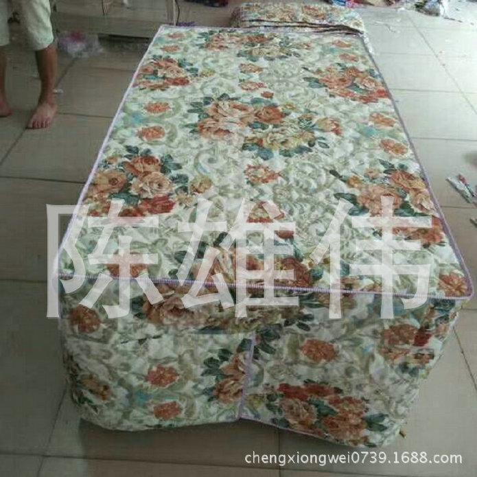厂家生产钻石绒茶几四开棉桌罩 防水加棉桌布 防油加棉桌布示例图6