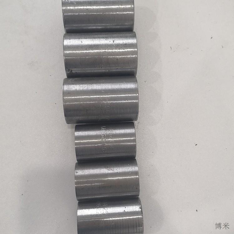 钢筋套丝接头 28正丝生产厂家 四川彭山建筑工地