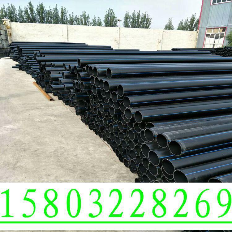 厂家直销PE穿线管耐磨PE电力管黑色阻燃电缆专用穿线管示例图1