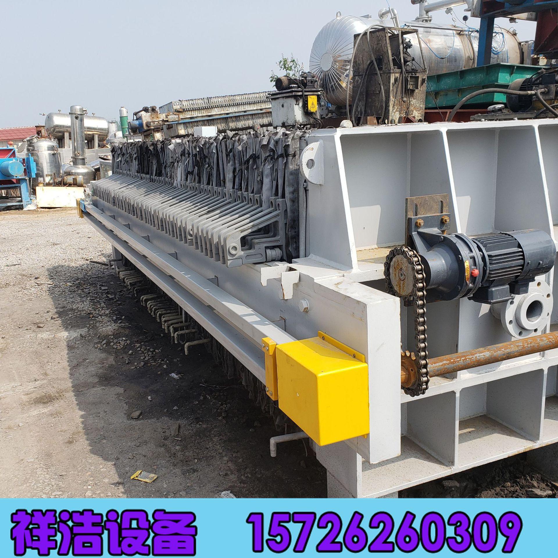 廠家直銷壓濾機 200平方廂式壓濾機 程控隔膜壓濾機 污泥脫水設備示例圖1