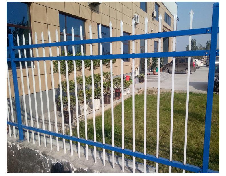 批发 别墅小区铁艺防爬围墙护栏 庭院新村园林工厂锌钢防护栏杆示例图16