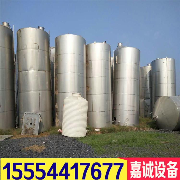 二手304不锈钢储罐 15立式储罐 卧式储罐多少钱示例图3