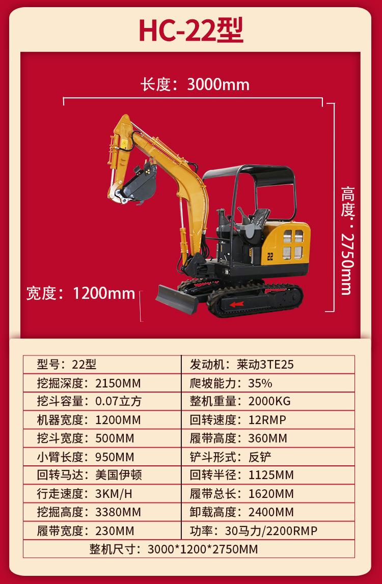 3万小型挖掘机 迷你微型挖掘机价格 小挖掘机 果园种植 洋马小型挖掘机价格示例图21