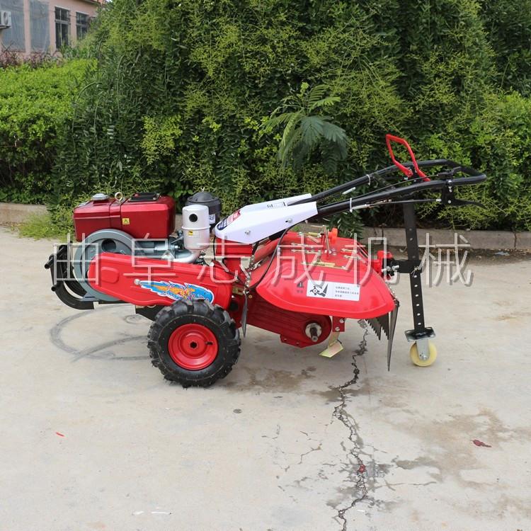 厂家直销 四驱微耕机 汽柴油大马力微耕机 ZC-170型旋耕锄草机 志成示例图1