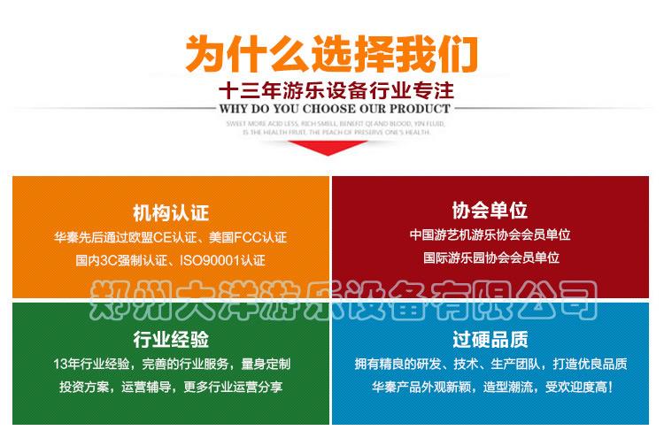 新款广场小型游乐设备小蹦极 郑州大洋专业生产4人蹦极游乐设备示例图62