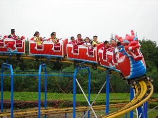 郑州大洋专业生产滑行龙 儿童游乐设备 大型户外游乐滑行龙厂家示例图18