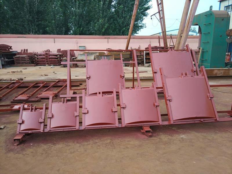 河北弘鑫水利 1.5米×1.5米铸铁闸门 渠道铸铁闸门 厂家直销示例图1