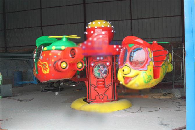 新型游乐设备儿童旋转阿帕奇 厂家直销旋转阿帕奇大洋供应商示例图7
