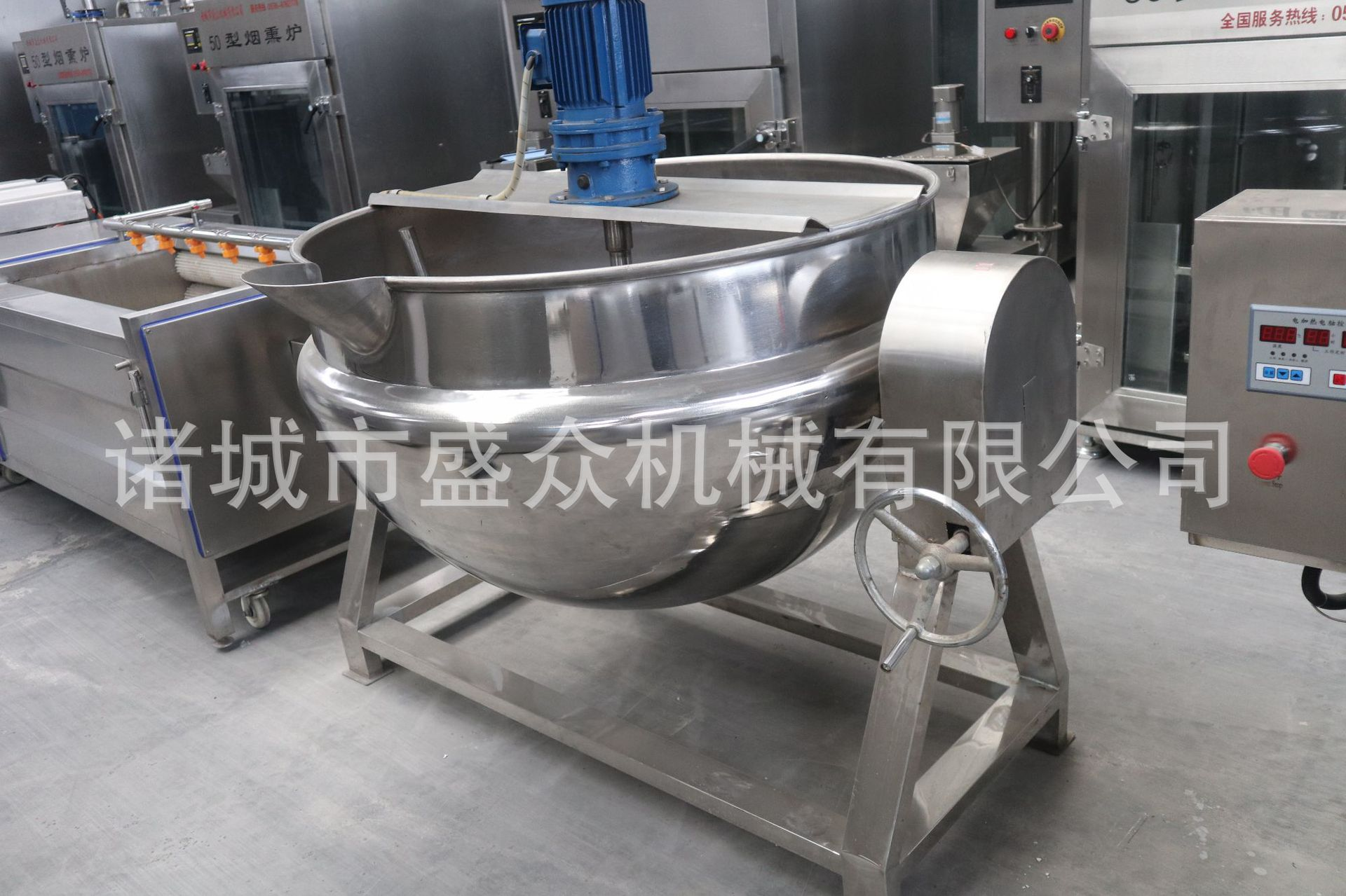 青海牛肉干生产设备价格 牛肉干加工全套设备 牛肉干全套加工生产线示例图14
