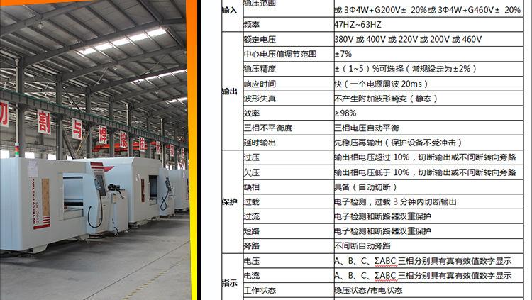 江苏山崎马扎克MAZAK系列机床稳压器30KW/40KW/50KW 三相分调式稳压电源ZBW-50KVA示例图16