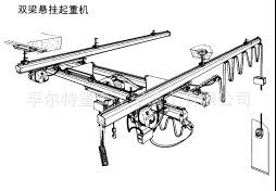 厂家直销FORT牌KBK1吨组合式柔性起重机 1吨KBK起重机 1吨组合式起重机 1吨柔性吊 流水线起重机示例图25