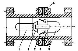 液体涡轮流量计 高压涡轮流量计 涡轮电池供电流量计示例图2