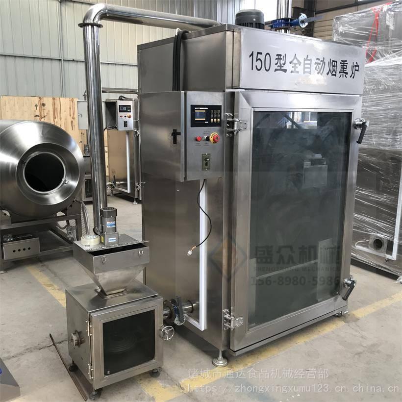 全自動煙熏爐 食品機械大型設備 豆干臘肉煙熏爐批發 供應商示例圖4