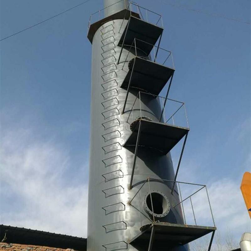 榆次处理风量5万立方耐材、砖窑碳钢脱硫塔