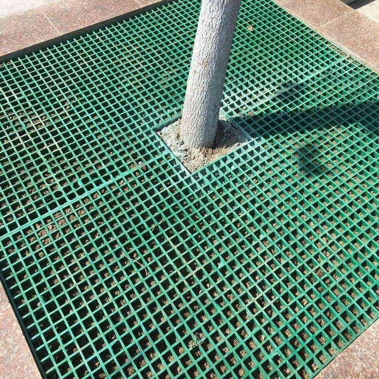 ?格栅 免维护玻璃钢树围子格栅 霈凯