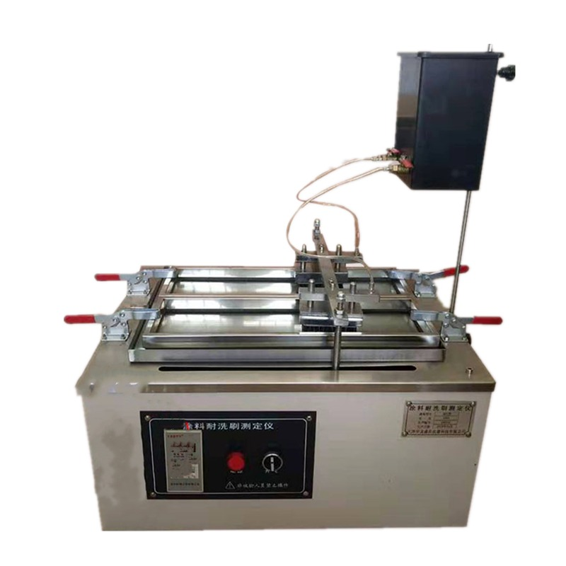 新标准涂料耐洗刷试验仪 QFS型涂料耐洗刷测定仪 油漆电镀试验机