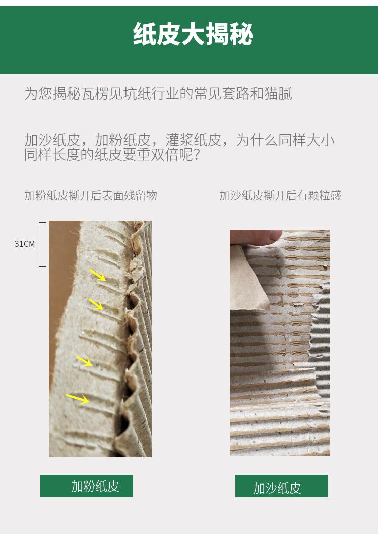 橱柜包装纸皮 衣柜打包纸皮 双层瓦楞纸卷 家具包装纸 中山瓦楞纸皮厂家示例图14