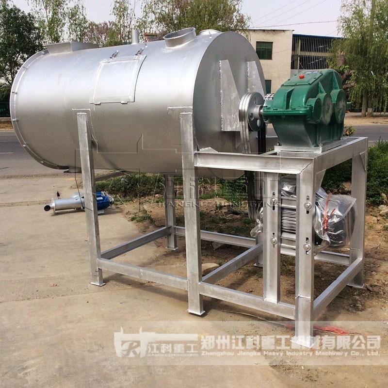 郑州江科重工 不锈钢干粉搅拌机 1吨型多功能干粉混合机 不锈钢搅拌机 腻子粉生产设备