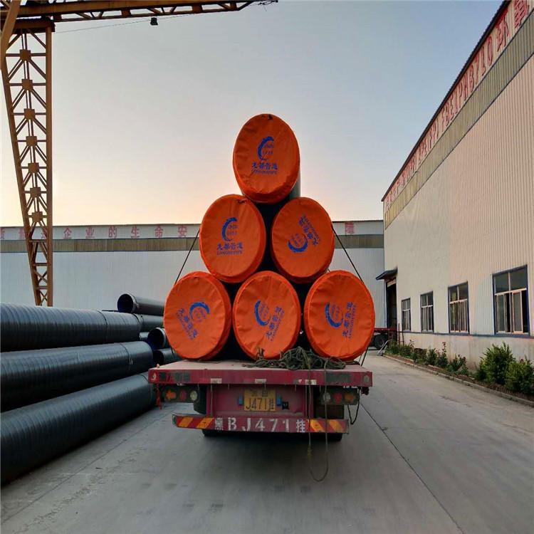 龙都生产,预制直埋保温螺旋钢管厂家,高密度保证,高密度聚氨酯预制直埋保温管厂家