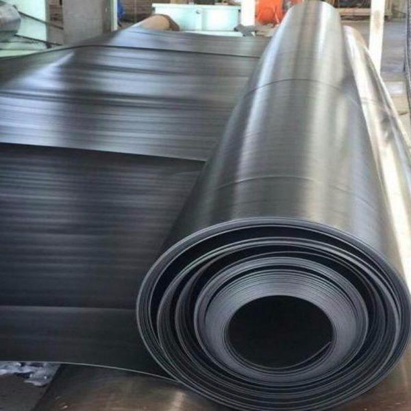 厂家直销0.3mm、0.4mm、0.5mm、0.6mm水产养殖、蓄水池专用HDPE防渗膜