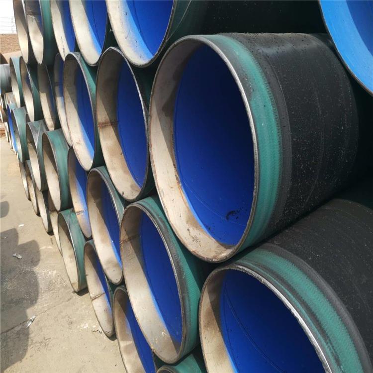 龍都管道 供應 內襯不銹鋼免修補防腐管道 管段襯口TPEP防腐管 TPEP直埋式防腐鋼管 量大優惠 型號齊全